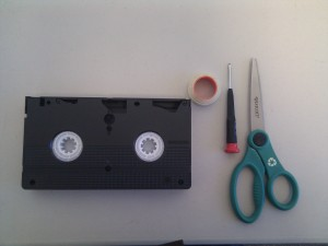 VHS Repair Step 1