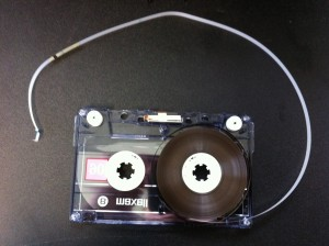audio cassette repair