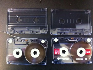 Audio repair cassette