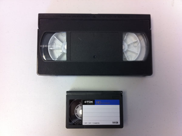 Difference Between Vhs And Vhs C Tapes Dvd Your Memories