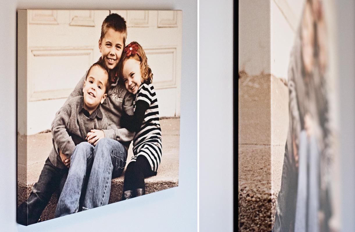 canvas print photo enlargements