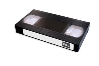 PAL video cassette